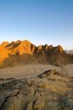 沙漠埃及岩石 免版税图库摄影