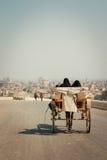沙漠城市 路 免版税图库摄影