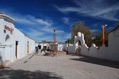 沙漠城镇 库存图片