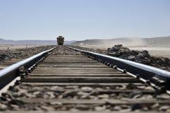 沙漠培训 免版税库存照片