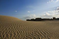 沙漠堡垒 免版税图库摄影