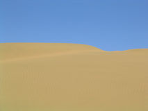 沙漠展望期 库存照片