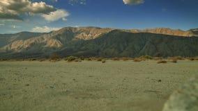 沙漠山区标准时间流逝 影视素材