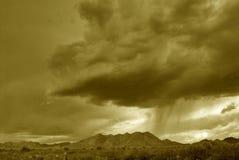 沙漠山 图库摄影