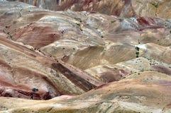 沙漠山 免版税库存照片