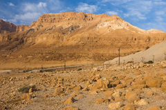 沙漠山 免版税库存图片