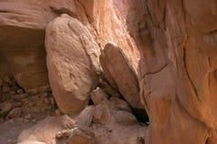 沙漠岩石 图库摄影