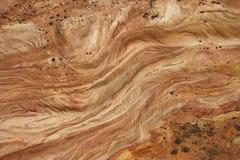 沙漠岩石 免版税图库摄影