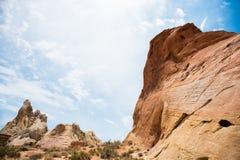 沙漠峰顶 免版税库存图片