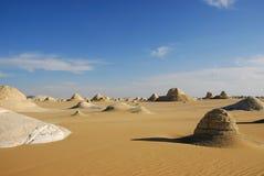 沙漠帐篷谷 免版税库存照片