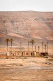 沙漠废墟 图库摄影