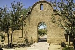沙漠拱道 库存图片