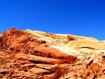 沙漠指纹 库存照片