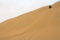 沙漠探险 库存图片