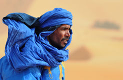 沙漠摩洛哥人 免版税库存图片