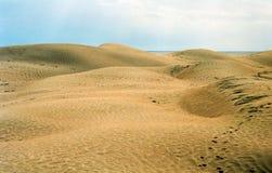 沙漠撒哈拉大沙漠突尼斯 图库摄影
