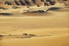 沙漠撒哈拉大沙漠 埃及 闹事 免版税库存照片