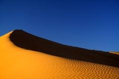 沙漠撒哈拉大沙漠 免版税图库摄影