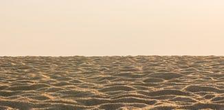 沙漠是白色的作为背景 库存照片