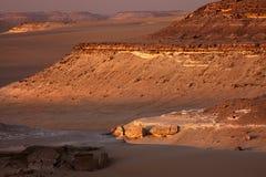沙漠极大的最近的撒哈拉大沙漠siwa 图库摄影