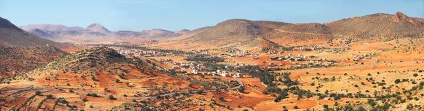 沙漠横向摩洛哥 库存图片