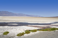 沙漠横向 免版税图库摄影