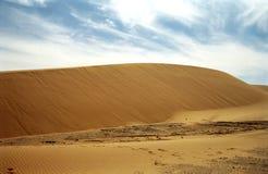沙漠毛里塔尼亚撒哈拉大沙漠 免版税库存图片