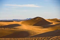 沙漠沙丘撒哈拉大沙漠 库存照片