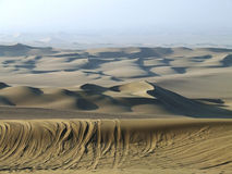 沙漠沙丘 免版税库存照片