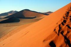 沙漠沙丘namib 库存照片