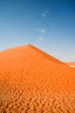 沙漠沙丘namib 免版税图库摄影