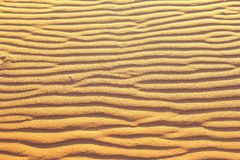 沙漠沙子排行条纹抽象背景纹理 免版税库存照片