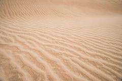 沙漠沙子 免版税库存图片