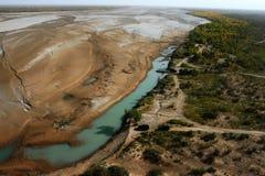 沙漠河 库存图片