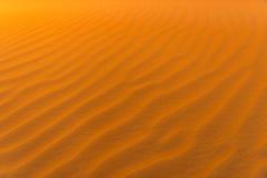 沙漠波浪 免版税库存照片