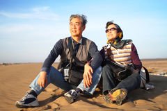 沙漠测试 库存照片