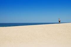 沙漠海洋 库存照片