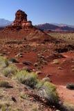 沙漠犹他 库存照片