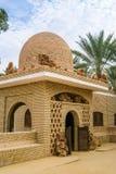 沙漠玫瑰色石头结构  沙漠座莲、水晶被做撒哈拉大沙漠的沙子和盐 突尼斯 夏天2015年 库存图片