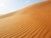 沙漠的沙子 免版税库存图片