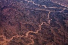 沙漠的照片 免版税库存照片