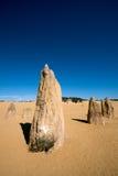 沙漠石峰 免版税图库摄影