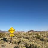 沙漠符号 免版税图库摄影