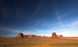 沙漠红色视图 免版税库存照片