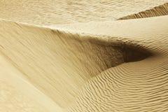 沙漠线路 免版税库存照片