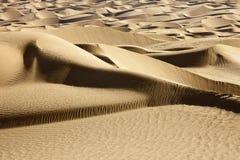 沙漠线路 免版税库存图片