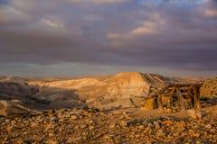 沙漠美丽的景色  库存照片