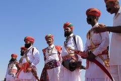 沙漠节日在Rajastan 库存图片