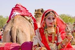 沙漠节日, Jaisalmer,拉贾斯坦,印度,亚洲 免版税库存照片