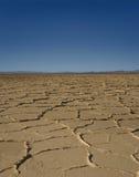 沙漠荒原 免版税库存照片